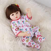 Кукла реборн 45 см полностью виниловая девочка Руслана
