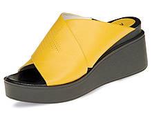 Сабо женские Mida 41 Желтый 23941 485 41, КОД: 1780376