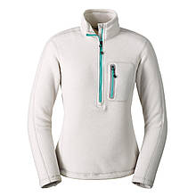 Кофта Eddie Bauer Womens Cloud Layer Pro 1 4-Zip Pullover SILVER S Серый 3166SL-S, КОД: 1212840