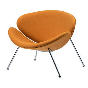 Foster (Фостер) кресло лаунж шерсть жёлтый карри, фото 2