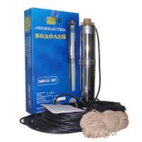Насос БЦПЭ 0,5-40У (25м) Водолей скважинный глубинный погружной для воды насос бытовой центробежный nasos