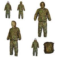 Сеточный антимоскитный маскировочный костюм (болото)