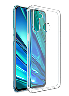 Чехол силиконовый для Realme 6i ультратонкий прозрачный (реалми 6і)