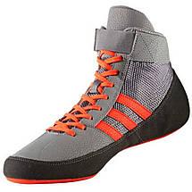 Обувь для борьбы (борцовки) Adidas Havoc (серые, CG3802), фото 2