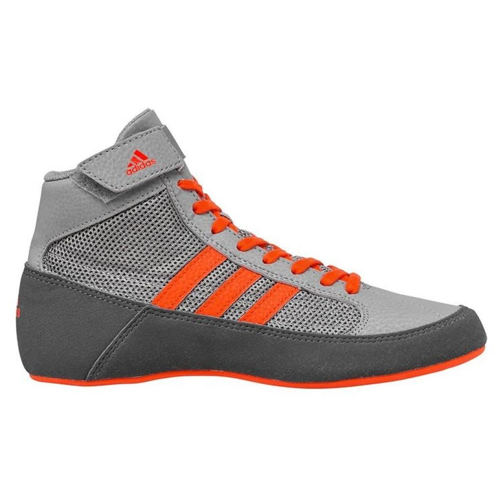 Обувь для борьбы (борцовки) Adidas Havoc (серые, CG3802)