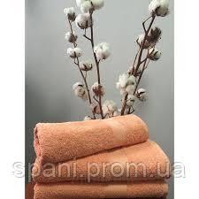 Махровое полотенце 50х70, 100% хлопок 550 гр/м2, Пакистан, Корал