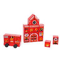 Конструктор Cubika Fire station LDK3 (15139)