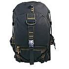 Брезентовый(джинсовый) большой рюкзак GoldBe! на 50л, фото 2