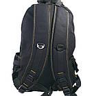 Брезентовый(джинсовый) большой рюкзак GoldBe! на 50л, фото 7
