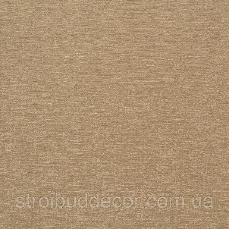 Обои бумажные акриловые (пенообои) 0,53*10,05  узор  Слобожанские однотонные бежевые