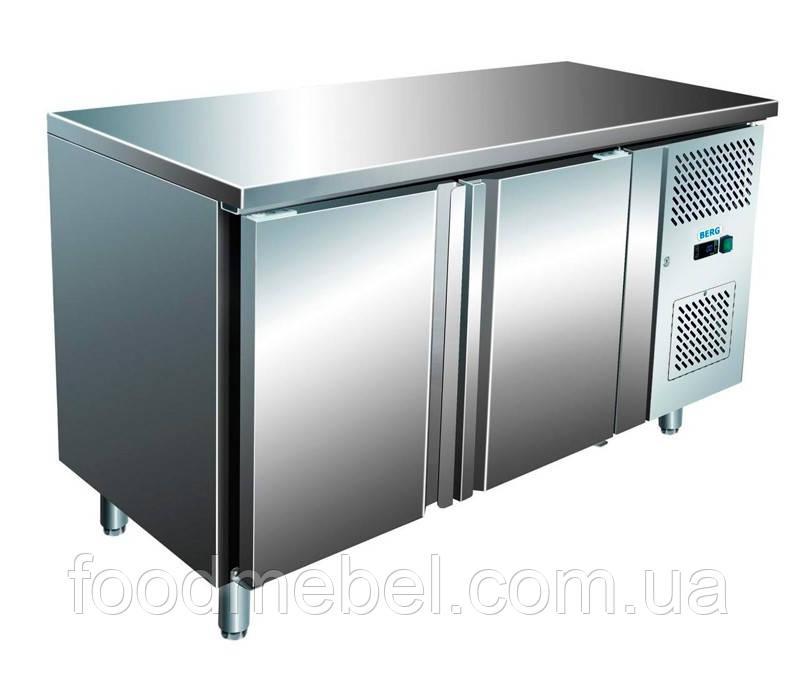 Холодильный стол Berg GN2100TN 2х-дверный без борта