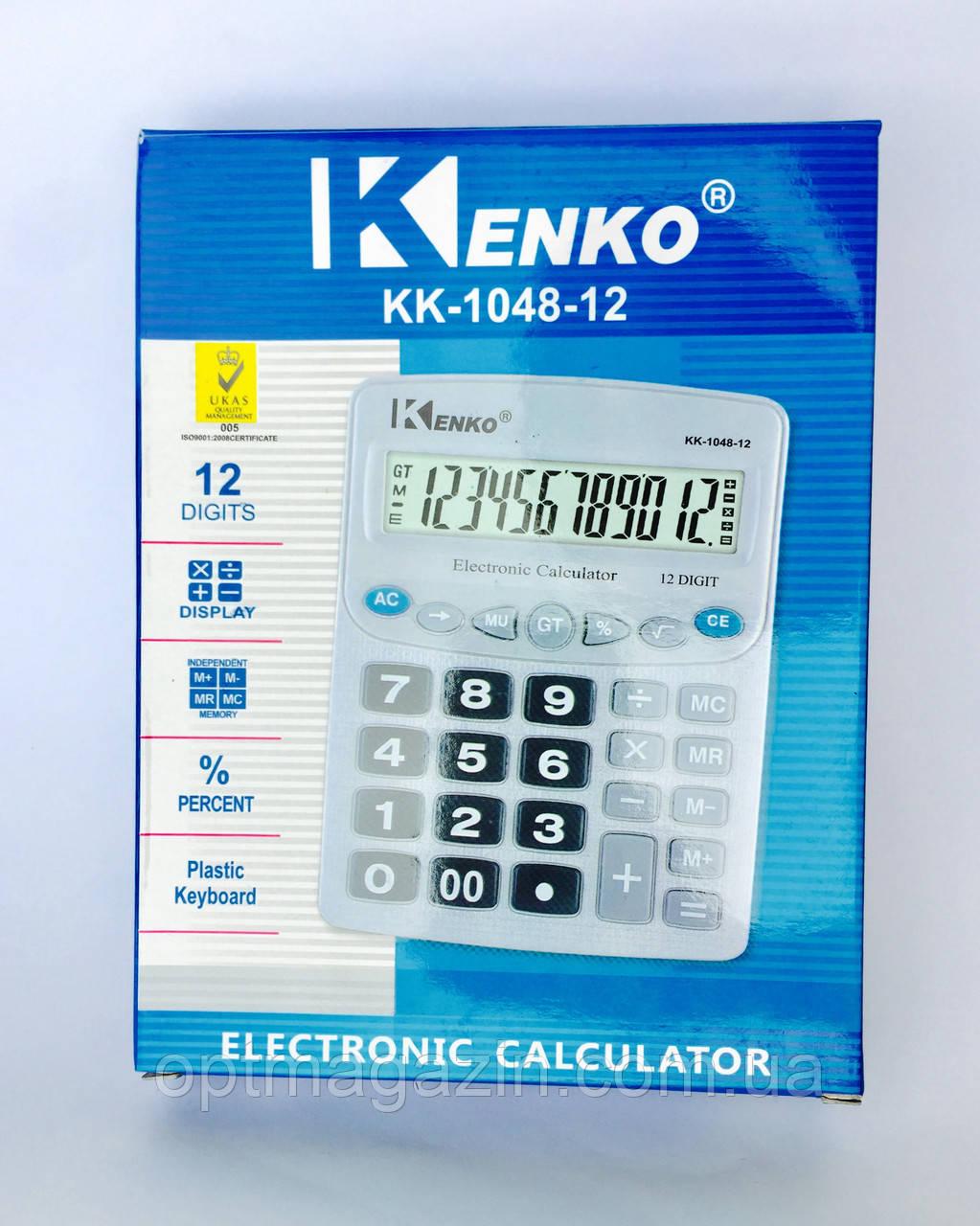 Калькулятор Kenko KK-1048-12\ Калькулятор Кенко КК-1048-12