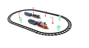 Дитяча залізна дорога іграшка паровоз Joy Toy, фото 3