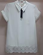 Блуза школьная 116-164 рост