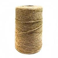 Веревка Шпагат подвязочный натуральный коричневый 0,2 км