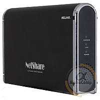 "Сетевое хранилище Welland NetShare для HDD 3.5"" USB 2.0/e-SATA/RJ45 (ME-747AN-S) БУ"