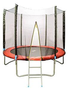 Батут d=2,5м с сеткой и лестницей HSF 8FT