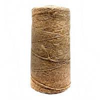 Веревка Шпагат подвязочный натуральный коричневый 0,6 км