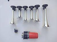 Сигнал дудка с компрессором. Автомобильный сигнал звуковой на 6 тональностей 12 вольт