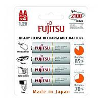 Аккумулятор Fujitsu Ni-MH AA/HR06 1900mAh BL 4шт