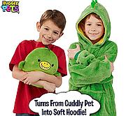 Детская толстовка-халат плед трансформер в игрушку Huggle Pets