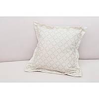Декоративная подушка Ажур бежевая