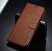 Кожаный чехол книжка LC.IMEEKE для Samsung Galaxy Note 10 Lite 2019 N770 с визитницей (Разные цвета)