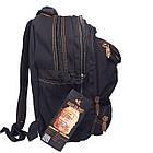Брезентовый(джинсовый) средний рюкзак GoldBe!, фото 2