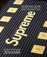 Резиновый коврик для инструментов Supreme с магнитными зонами, фото 1