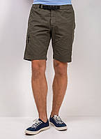Мужские шорты оливкового цвета от Pierre Cardin