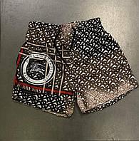 Мужские шорты в стиле Burberry пляжные шорты