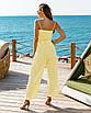 Женский брючный костюм Желтый, фото 2