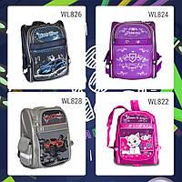 Рюкзак ортопедический | Школьные рюкзаки | Вместительный школьный рюкзак с многочисленными принтами
