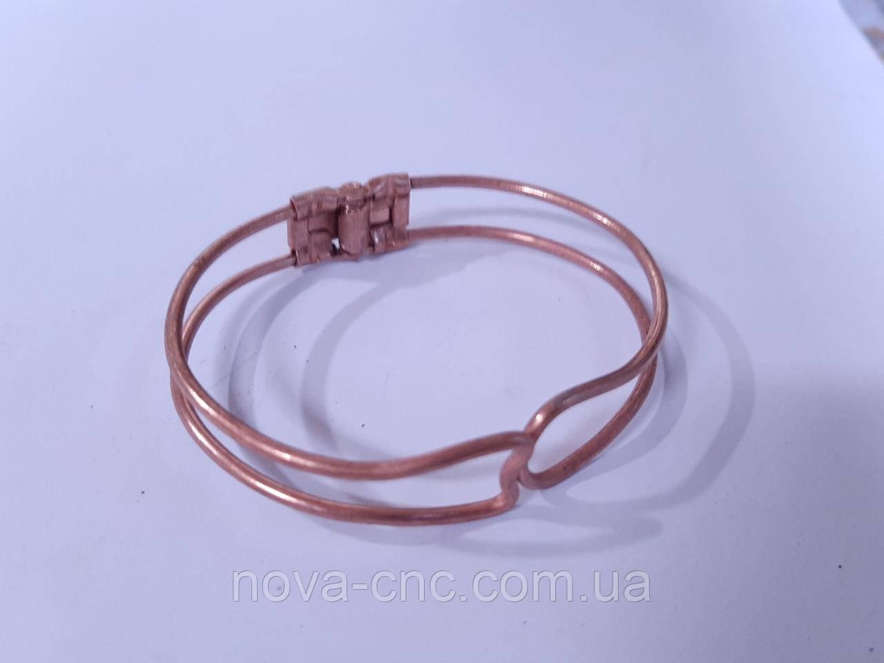 Основа для браслета металева роз'ємна 6 шт