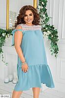 Женское платье большие размеры / батал