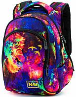 Рюкзак для девочки Winner One школьный яркий космос три отделения