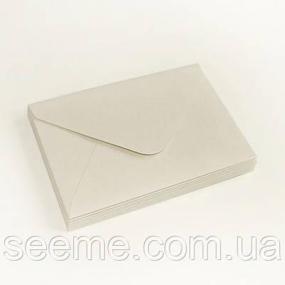 Конверт 175x125 мм, колір теплий сірий (warm gray)