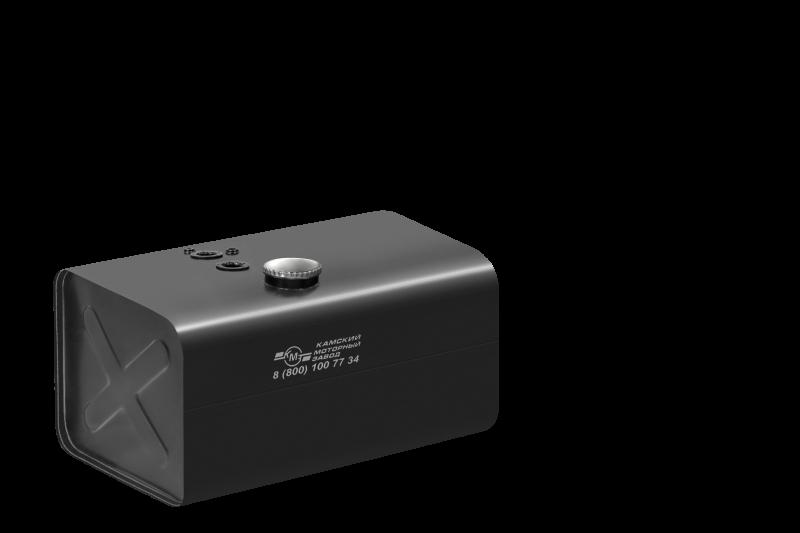 Бак паливний КМЗ 300л 900х540х640 голий з низькою напівобертовою горловиною (5464-1101300-001)