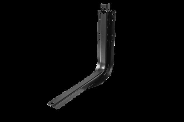 Кронштейн паливного бака КМЗ 400х490-01 8 отворів, для суцільної (звичайної) рамі (4049-1101К-01), фото 2