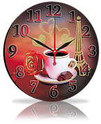 Часы круглые 25 см 80