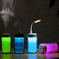 Зволожувач повітря Color Diamond c LED підсвічуванням (lamp+fan)