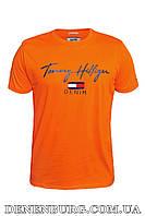 Футболка мужская TOMMY HILFIGER 20-13056 оранжевая