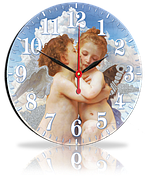 Часы круглые 25 см 82