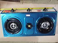 Газовая плита таганок Wimpex-1103, 3 конфорки, фото 5