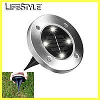 Универсальный светильник на солнечной батарее Solar Disk Lights