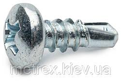 Саморез-блоха по металлу 3.5x9.5 оцинкованный KSTEX Wkret-Met 1000 шт.