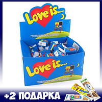 Блок жвачек Love is (ПОДАРОК на 14 февраля)
