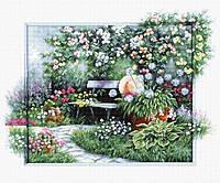 Набор для вышивания нитками LUCA-S Цветущий сад (BU4012)