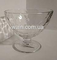 Креманка стеклянная для десертов и мороженого 375 мл Quartz UniGlass