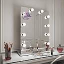 Стол для макияжа с зеркалом на надставке, стол для визажиста, туалетный столик., фото 3